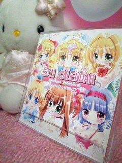 てぃんくる☆2011カレンダー 委託販売開始